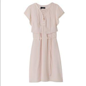 The Kooples pale pink silk dress